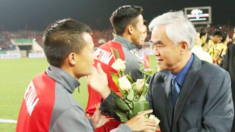 """Chủ tịch VFF Lê Hùng Dũng: """"Đây thật sự là bài học quý cho ĐT Việt Nam"""""""