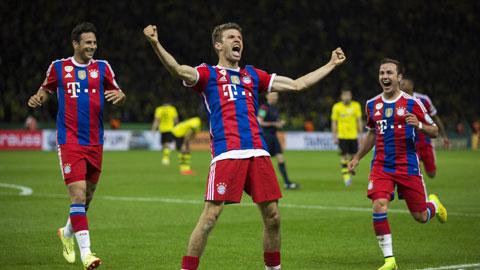 Thomas Mueller cán mốc 24 bàn ở Champions League: Trên hành trình huyền thoại!