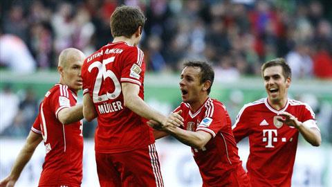 Chức vô địch lượt đi chờ Bayern