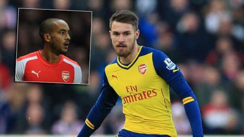 Arsenal mất Walcott, có thể cả Ramsey ở trận gặp Newcastle