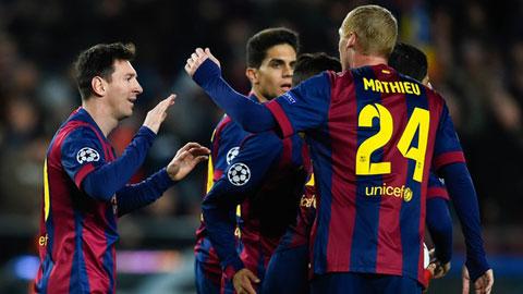 Thói quen mới của Barca: Ngược dòng và thắng vất vả