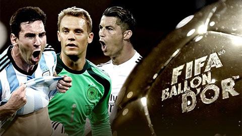 Neuer không xứng đáng giành Quả bóng Vàng FIFA 2014
