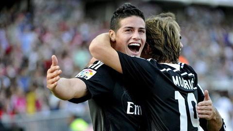 Modric, James & Khedira sắp trở lại: Real trút bỏ gánh nặng