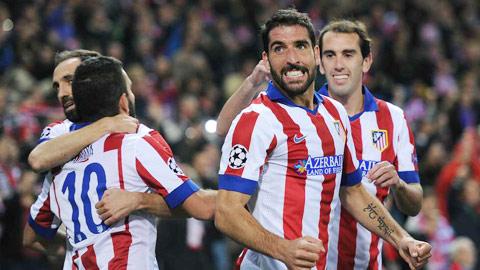 01h00 ngày 15/12, Atletico Madrid vs Villarreal: Điểm tựa Calderon
