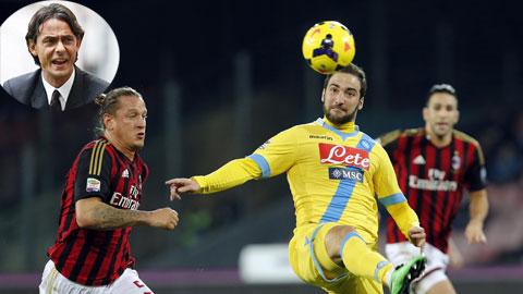 02h45 ngày 15/12, Milan vs Napoli: Inzaghi hết phép