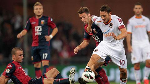 21h00 ngày 14/12, Genoa vs Roma: Lợi thế mặt sân... xấu