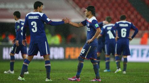 FIFA Club World Cup 2014: Cruz Azul vào bán kết gặp Real