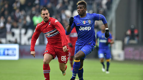 Juventus 1-1 Sampdoria: Thành Genova rung ngôi đầu của Juve