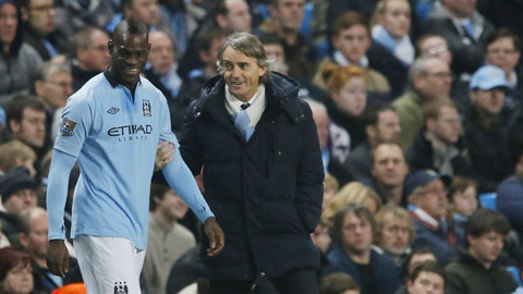 Mancini sẽ tái ngộ Balotelli?