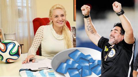 Maradona chuốc họa vì dùng Viagra quá liều!?