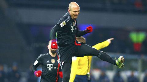 Robben: Nguồn cảm hứng bất tận của