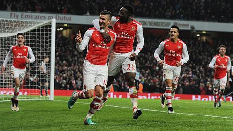 Arsenal đại thắng Newcastle: Tam tấu bùng nổ