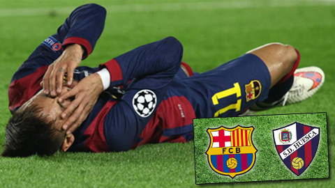 Barca tiếp tục mất Neymar ở Cúp Nhà Vua