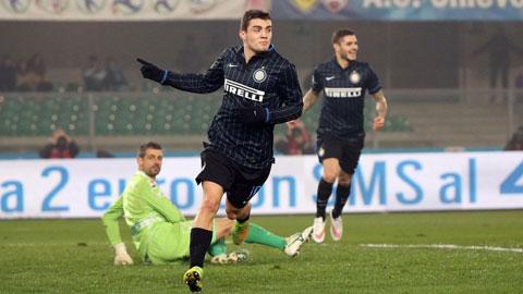 Chievo 0-2 Inter: 3 điểm giải