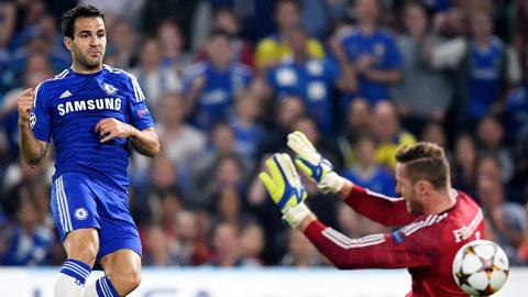 Chelsea thiếu dự phòng cho Fabregas