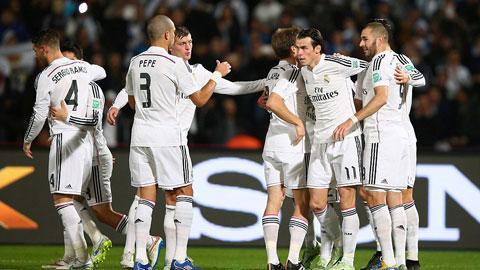 """Cruz Azul 0-4 Real Madrid: Ronaldo tịt ngòi, """"Kền kền"""" vẫn bay cao"""