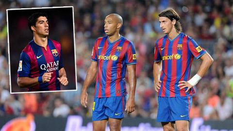 Luis Suarez: Thành học Henry, bại noi gương Ibra