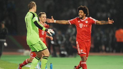 Hàng thủ Bayern phá một loạt kỷ lục