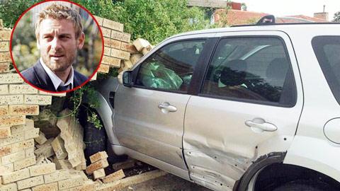 De Rossi bị trộm xe