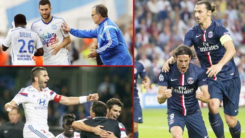 Cuộc đua vô địch Ligue 1: Tam mã khó lường!