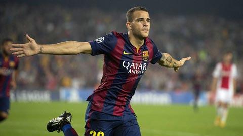 """Barca: Sandro dập tắt """"hiện tượng"""" Munir"""