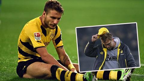Vòng 16 Bundesliga: Dortmund lại gây thất vọng