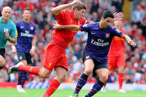 Arsenal và Liverpool cùng