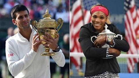 Novak Djokovic và Serena Williams: Nhà vô địch thế giới của năm