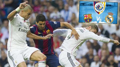 Chưa đá El Clasico lượt về, Real đã có lợi thế
