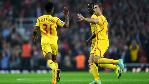 Đội hình xuất sắc kết hợp giữa Liverpool và Arsenal