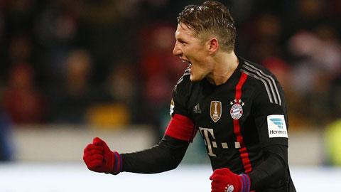 Bayern đánh bại Mainz 2-1: Hùm xám bất bại ở lượt đi
