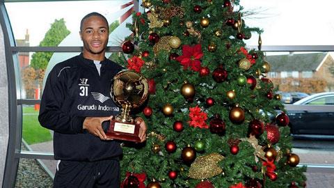 Sterling nhận giải Golden Boy 2014