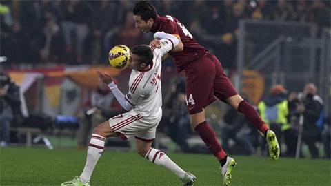 AS Roma 0-0 AC Milan: Trận hòa nhiều điểm cộng cho Rossoneri