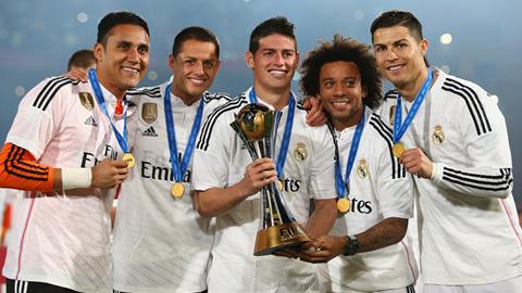 Real Madrid tiếp tục ghi danh vào lịch sử