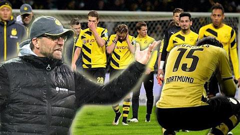 """Thua Bremen, Klopp mắng xối xả học trò là """"một lũ ngốc"""""""