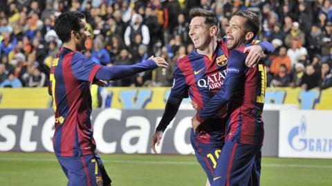 Barca khép lại năm 2014: Messi vẫn là điểm nhấn