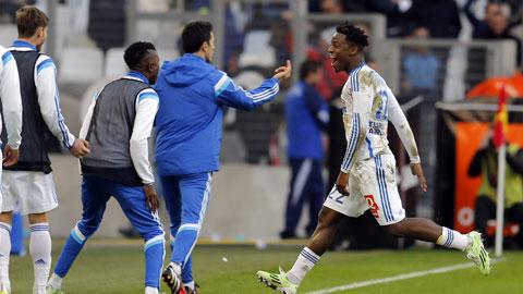 Marseille 2-1 Lille: Marseille vô địch mùa Đông
