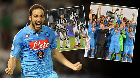Vượt qua Juve sau loạt đấu súng, Napoli đăng quang Siêu cúp Italia