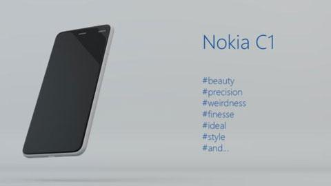 """Nokia C1: Smartphone đầu tiên của Nokia sau khi """"bán mình""""?"""