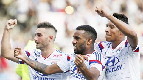Lyon lên nhì bảng Ligue 1: Sức trẻ Mãnh sư!