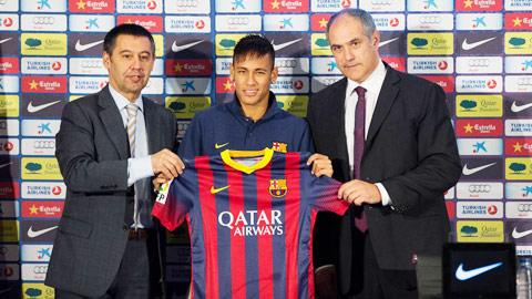 """Barca muốn """"trói"""" Neymar đến 2020"""