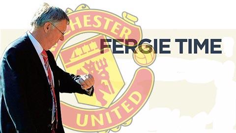 """Sir Alex tiết lộ bí mật """"phút bù giờ Fergie"""""""