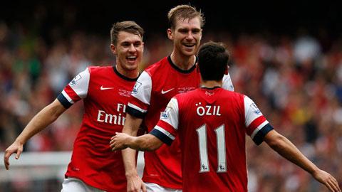"""Arsenal """"vô đối"""" về fan trên twitter tại Anh"""