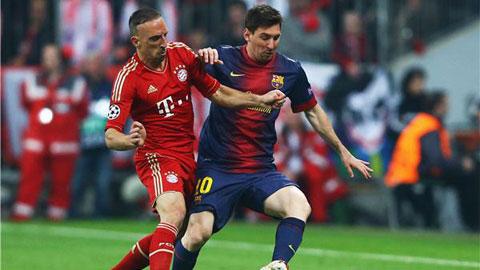 Barca và Bayern vô đối về mật độ chuyền bóng tại châu Âu