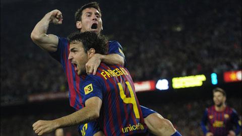 Fabregas mong tái hợp Messi ở Chelsea