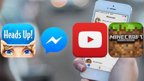 Facebook Messenger đứng đầu các ứng dụng miễn phí cho iPhone trong năm 2014