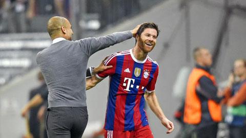 Xabi Alonso: Gương mặt ấn tượng nhất lượt đi Bundesliga 2014/15