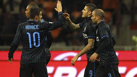 Inter và Milan: Càng đá, càng hay và chờ... bay!
