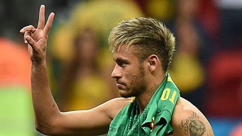 Neymar xăm hình mới đón Giáng sinh