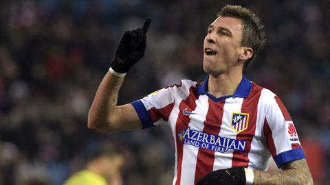 Man City sẵn sàng mua Mandzukic với giá 25 triệu bảng